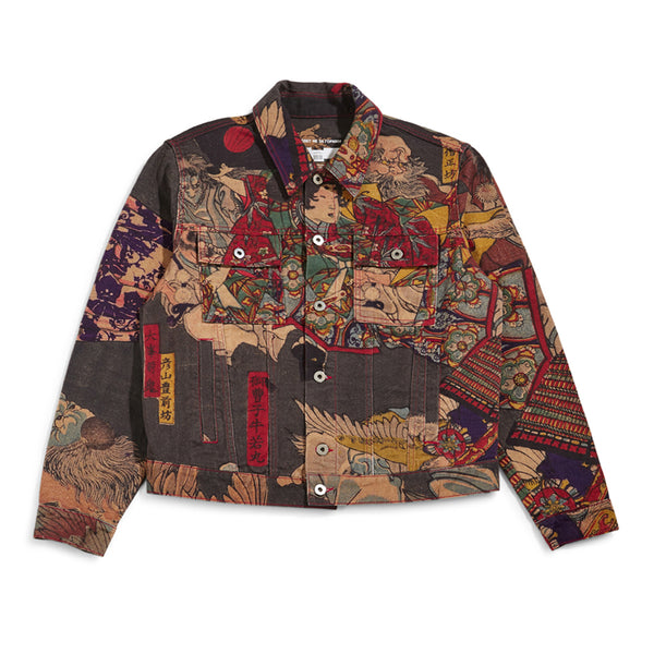 RASSVET Denim Jacket - Allover Print