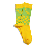 RASSVET Two Tone Jaquard Socks Yellow
