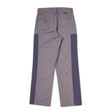 RASSVET Checkered Pants - Grey / Purple