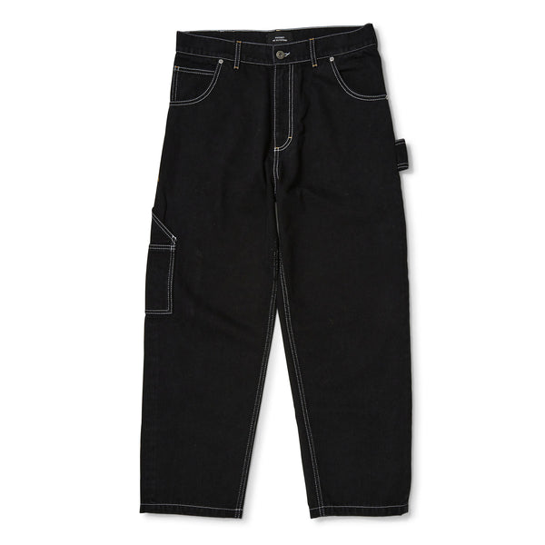 RASSVET Denim Carpenter Pants Black