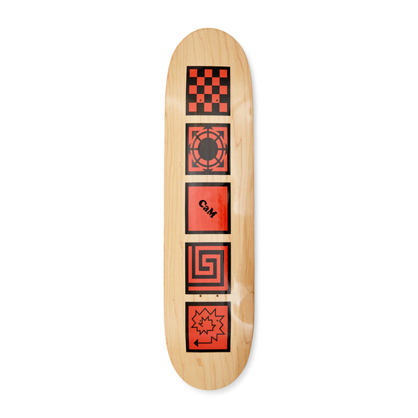RASSVET Logo Skateboard - Red