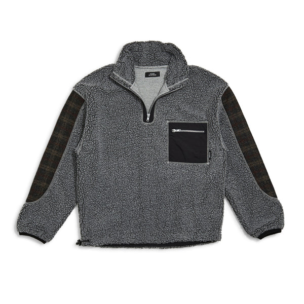 RASSVET Fleece Halfzip - Grey