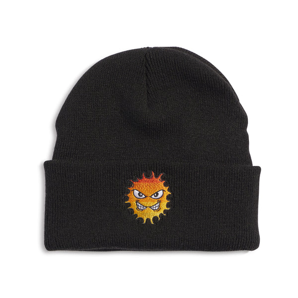 RASSVET / PACC8K004-1 / MEN'S BEANIE WITH EMBROIDERY - BLACK