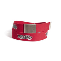RASSVET / PACC8K007-2 / MEN'S PRINTED WEBBING BELT - RED