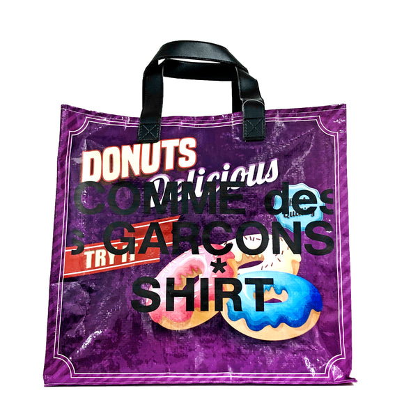 CDG SHIRT Shopper Bag - Logo Print