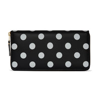 CDG Polka Dot Wallet - Black / SA0110PD