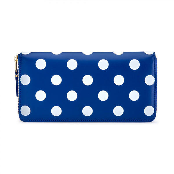 CDG Polka Dot Wallet - Blue / SA0110PD