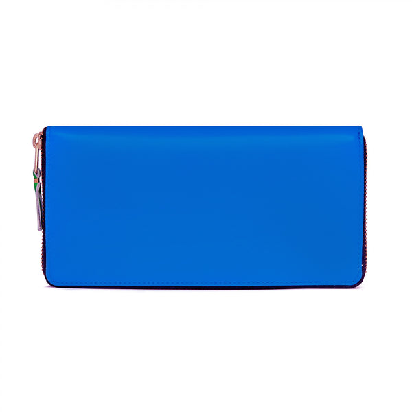 CDG Super Fluo Wallet - Blue / SA0110SF