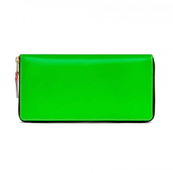 CDG Super Fluo Wallet - Green / SA0110SF