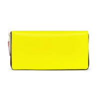 CDG Super Fluo Wallet - Yellow / SA0110SF