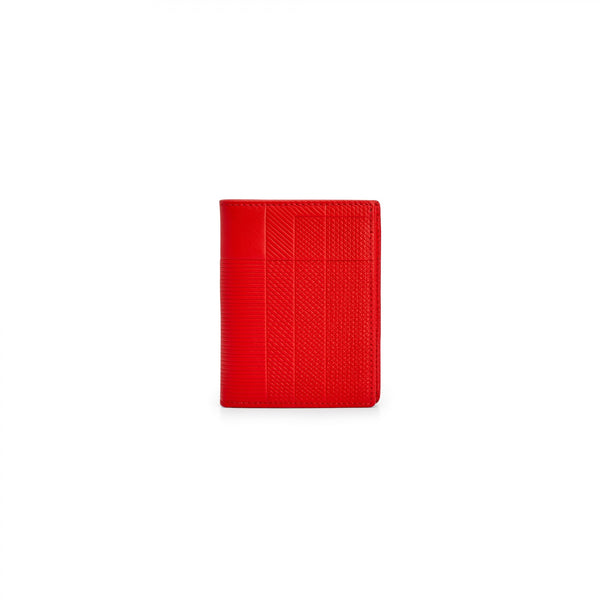 CDG Intersection Wallet - Red / SA0641LS