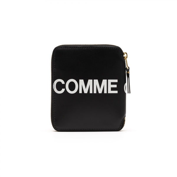 CDG Huge Logo Wallet - Black / SA2100HL