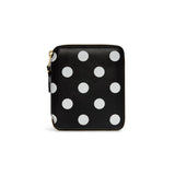 CDG Polka Dot Wallet - Black / SA2100PD