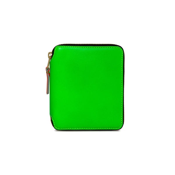 CDG Super Fluo Wallet - Green / SA2100SF