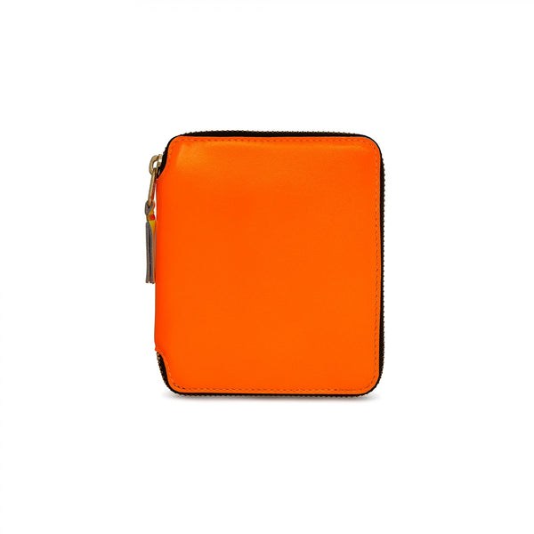 CDG Super Fluo Wallet - Light Orange / SA2100SF