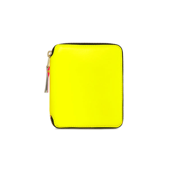 CDG Super Fluo Wallet - Yellow / SA2100SF