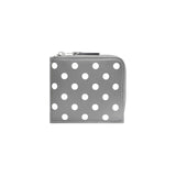 CDG Polka Dot Wallet - Grey / SA3100PD