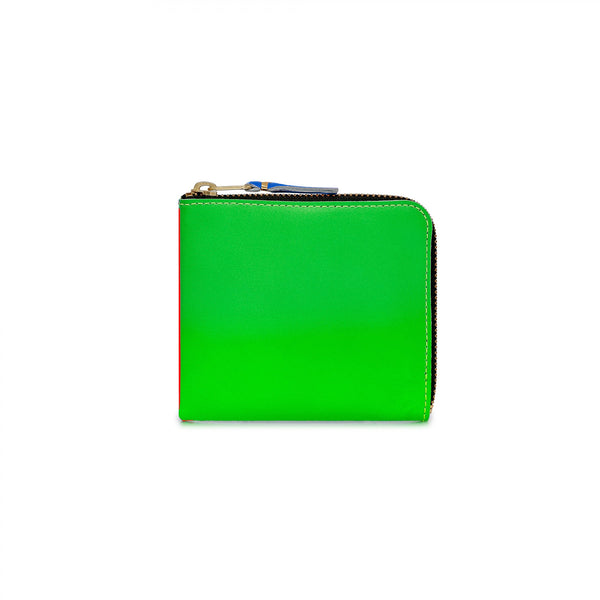 CDG Super Fluo Wallet - Green/Orange / SA3100SF