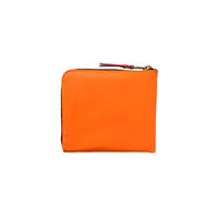 CDG Super Fluo Wallet - Yellow/Light Orange / SA3100SF