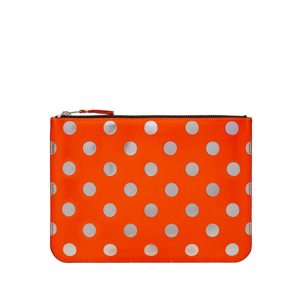 CDG Optical Dot Wallet - Orange / SA5100GB