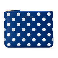 CDG Polka Dot Wallet - Blue / SA5100PD