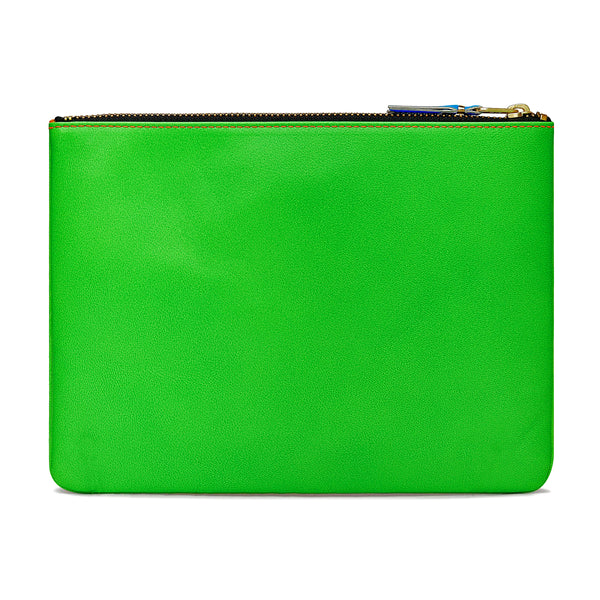 CDG Super Fluo Wallet - Green/Orange / SA5100SF