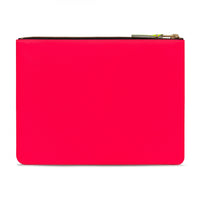 CDG Super Fluo Wallet - Light Orange/Pink / SA5100SF
