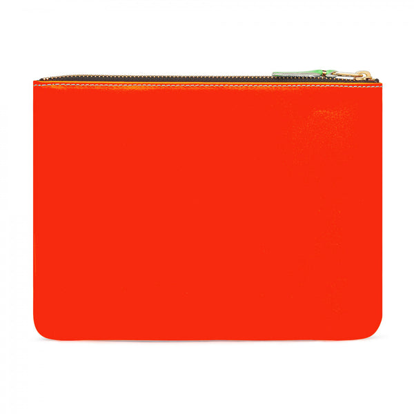 CDG Super Fluo Wallet - Orange/Blue / SA5100SF
