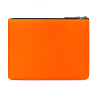 CDG Super Fluo Wallet - Yellow/Light Orange / SA5100SF