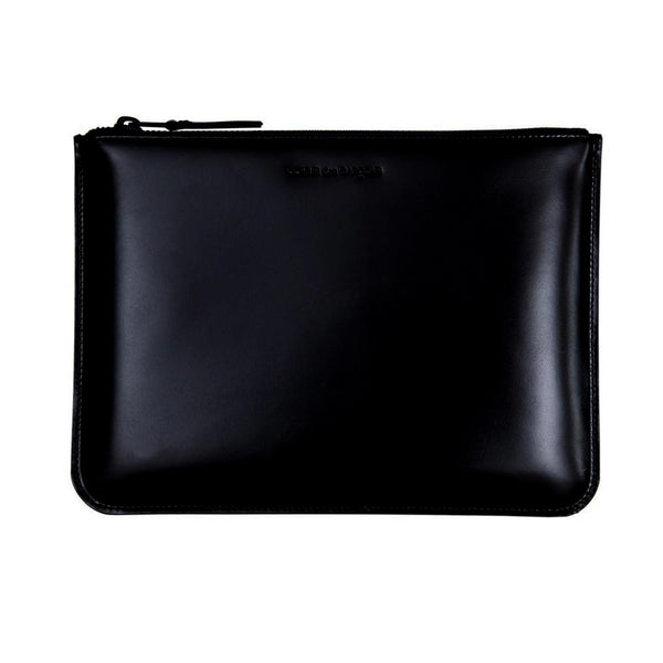 CDG Very Black Wallet - Black / SA5100VB