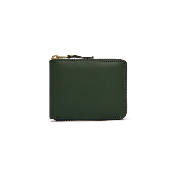 CDG Classic Wallet - Bottle Green / SA7100