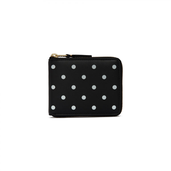 CDG Polka Dot Wallet - Black / SA7100PD