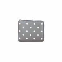 CDG Polka Dot Wallet - Grey / SA7100PD