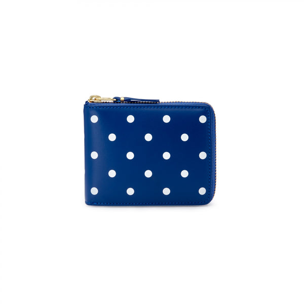 CDG Polka Dot Wallet - Blue / SA7100PD