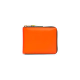 CDG Super Fluo Wallet - Light Orange / SA7100SF
