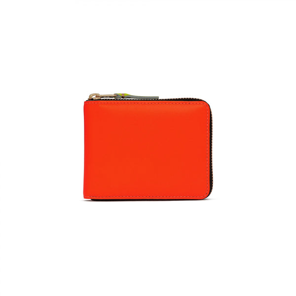 CDG Super Fluo Wallet - Orange / SA7100SF