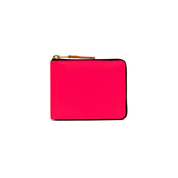 CDG Super Fluo Wallet - Pink / SA7100SF