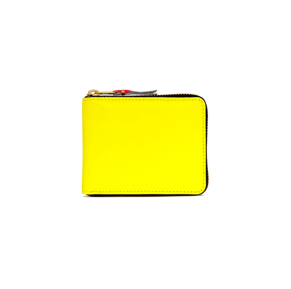 CDG Super Fluo Wallet - Yellow / SA7100SF
