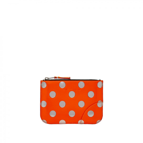 CDG Optical Dot Wallet - Orange / SA8100GB