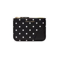 CDG Polka Dot Wallet - Black / SA8100PD