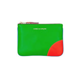 CDG Super Fluo Wallet - Blue/Green / SA8100SF
