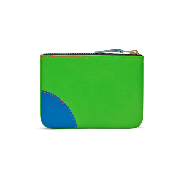 CDG Super Fluo Wallet - Green/Orange / SA8100SF
