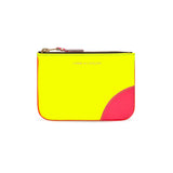 CDG Super Fluo Wallet - Yellow/Light Orange / SA8100SF