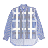 CDG SHIRT Grid Shirt / Stripes