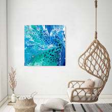 Load image into Gallery viewer, Pauline H Art Out Of The Blue Abstract Artwork 1
