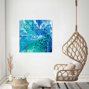 Pauline H Art Out Of The Blue Abstract Artwork 1