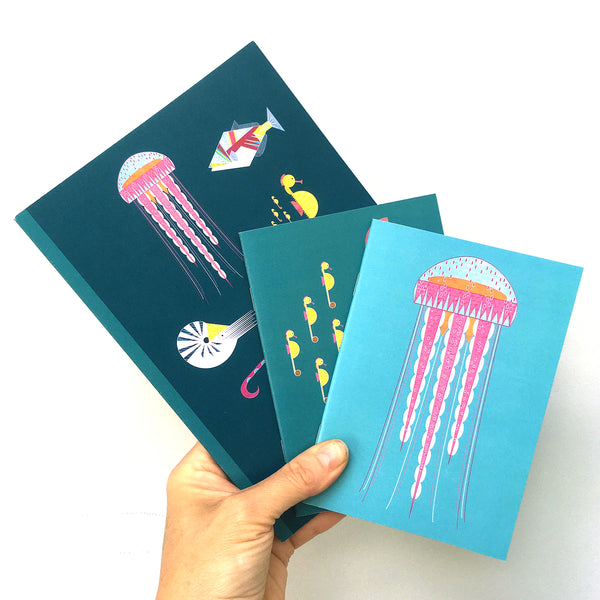 Jellyfish A6 Notebook
