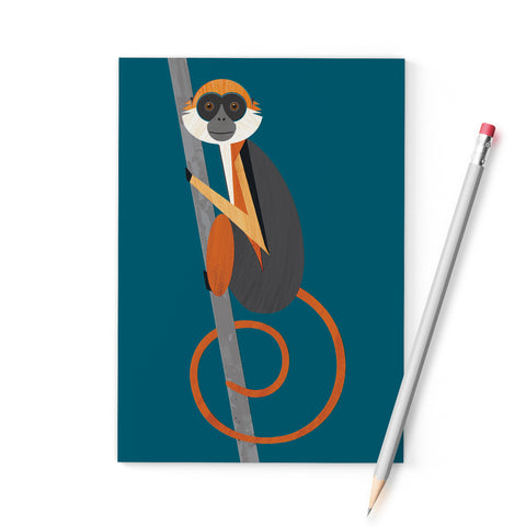 Red Colobus Monkey A6 Notebook