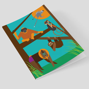 Monkeys A5 Notebook
