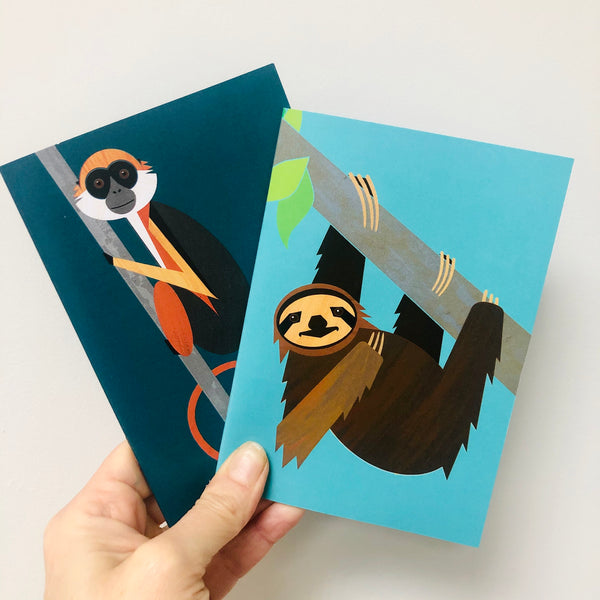 Pygmy Sloth A6 Notebook